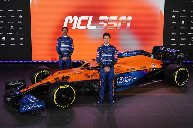 Ricciardo se junta a Norris na McLaren em 2021