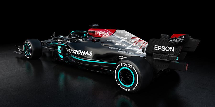 Nova Mercedes W12 terá motor totalmente novo em 2021