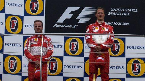 Imagem sobre Vexame histórico da F1 também foi estopim para Barrichello na Ferrari