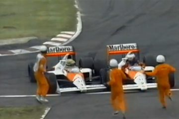 Embate entre Senna e Prost em 1989 é um dos tapetões mais polêmicos da história da F1
