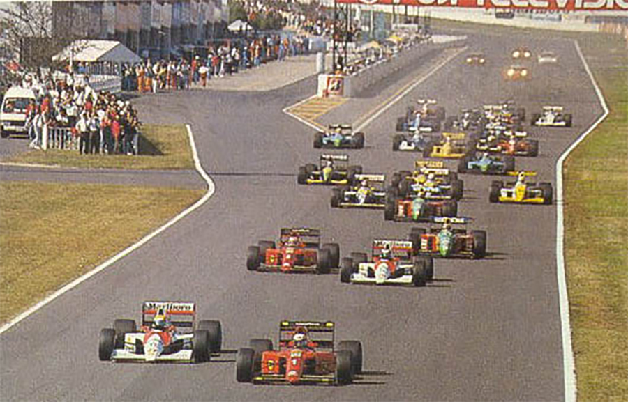 """Imagem sobre Choque em Suzuka de 90 ofuscou temporada mais legal da """"Era Senna"""""""