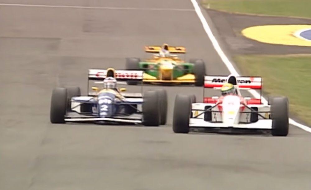 Senna, Prost e Schumacher protagonizam embate histórico da F1