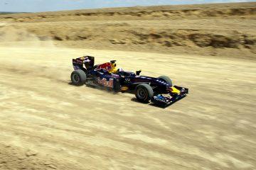 F1 na terra só em eventos comerciais. Mas 4x4 já foi realidade em outros tempos