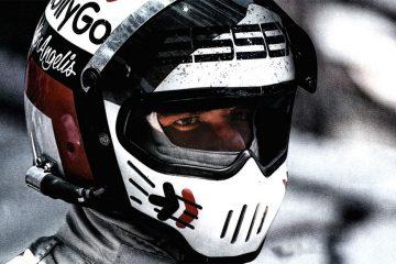 Capacete de Elio de Angelis se tornou uma dos mais icônicos da F1 nos anos 80