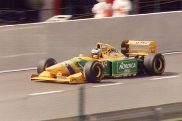 Benetton B193 de Michael Schumacher
