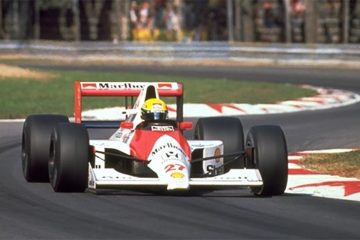Senna tinha um estilo bastante particular nos pedais