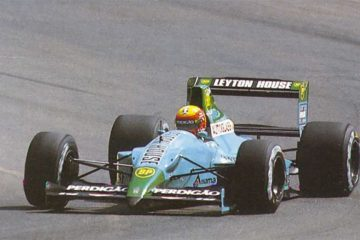 A March/Leyton House foi o time que mais pódios conquistou com a Judd