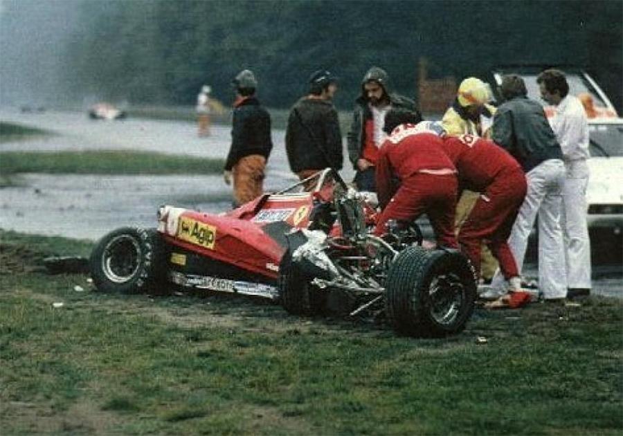 Acidente de Pironi marcou o fim da carreira do francês