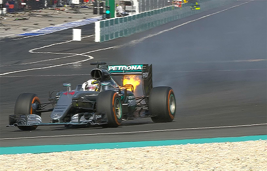 Imagem sobre Afinal, por que um motor de F1 explode quando quebra?