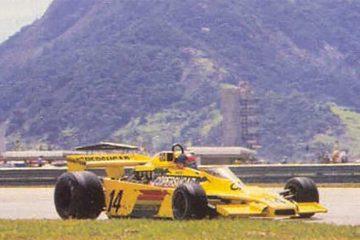 Em 1978, Fittipaldi fez a festa da torcida brasileira com segundo lugar em Jacarepaguá