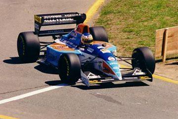 Última participação de Alboreto na F1 foi pela pequena Minardi