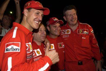O quarteto que levou a Ferrari a dominar a F1 no começo dos anos 2000