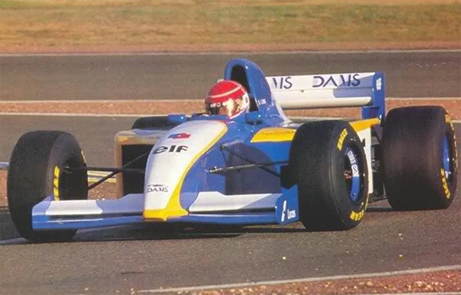 Imagem sobre GD-01: a tentativa fracassada da Dams de entrar na F1