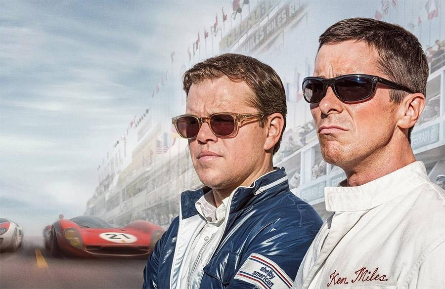 Matt Damon e Christian Bale protagonizaram no cinema a famosa história do Ford GT em Le Mans
