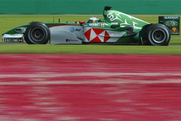A equipe Jaguar foi uma decepção na F1
