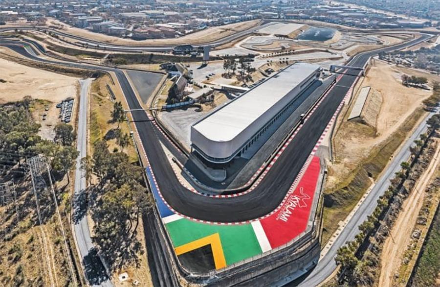 Circuito de Kyalami foi a casa mais tradicional da F1 na África