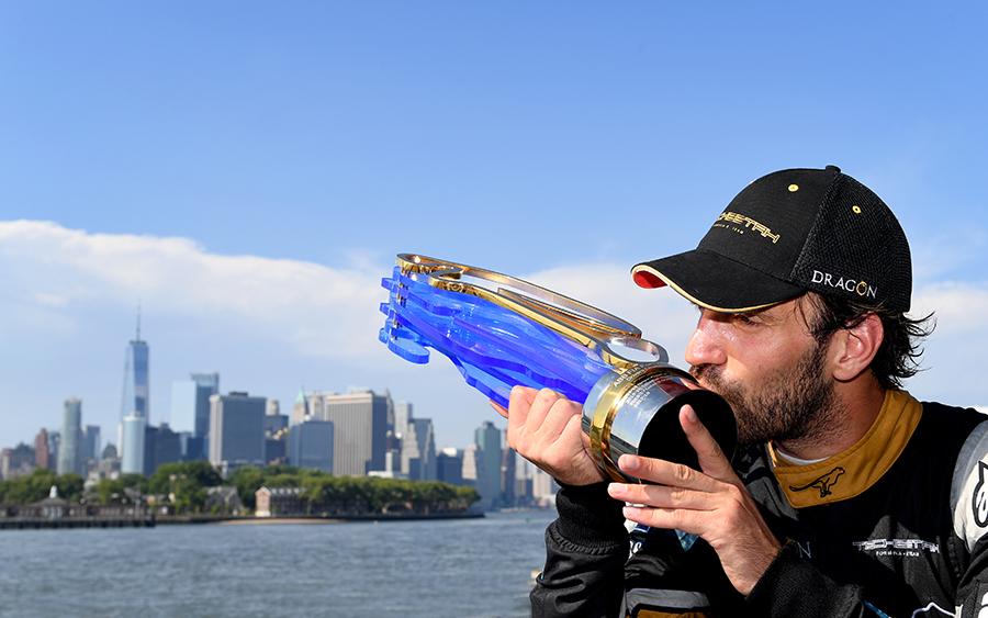 Jean-Eric Vergne conquistou é o único bicampeão da Fórmula E