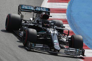 Lewis Hamilton, no GP da Espanha de 2020