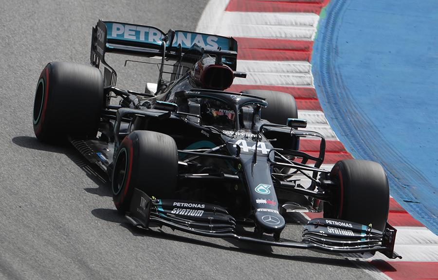 Imagem sobre A tática de Hamilton para fugir dos problemas de pneus na Espanha