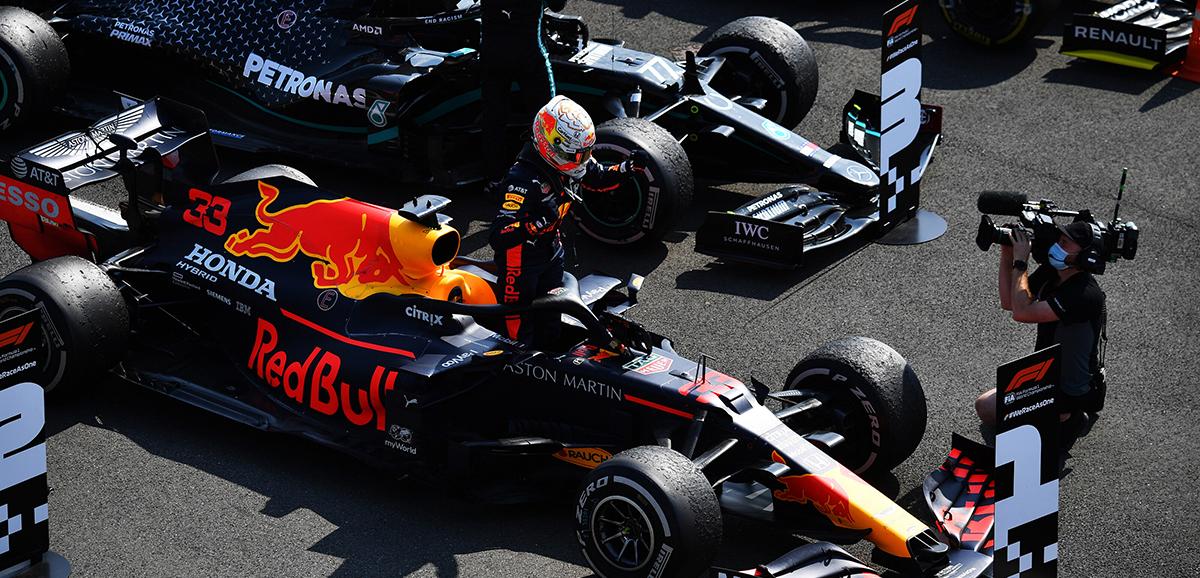 Max Verstappen venceu o GP do 70º Aniversário da F1
