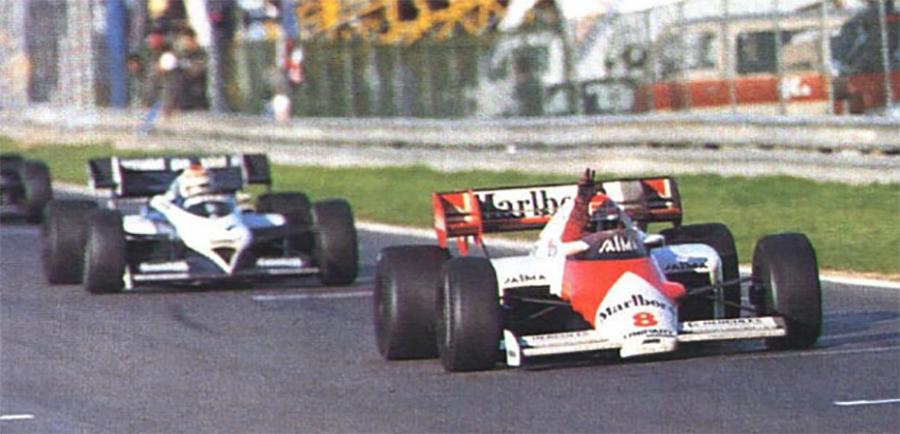 Lauda conquistou o título de 84 com sua McLaren Porsche
