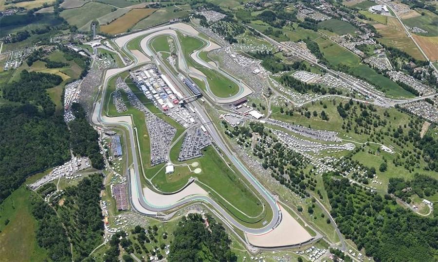 Circuito de Mugello, na Itália, é de propriedade da Ferrari