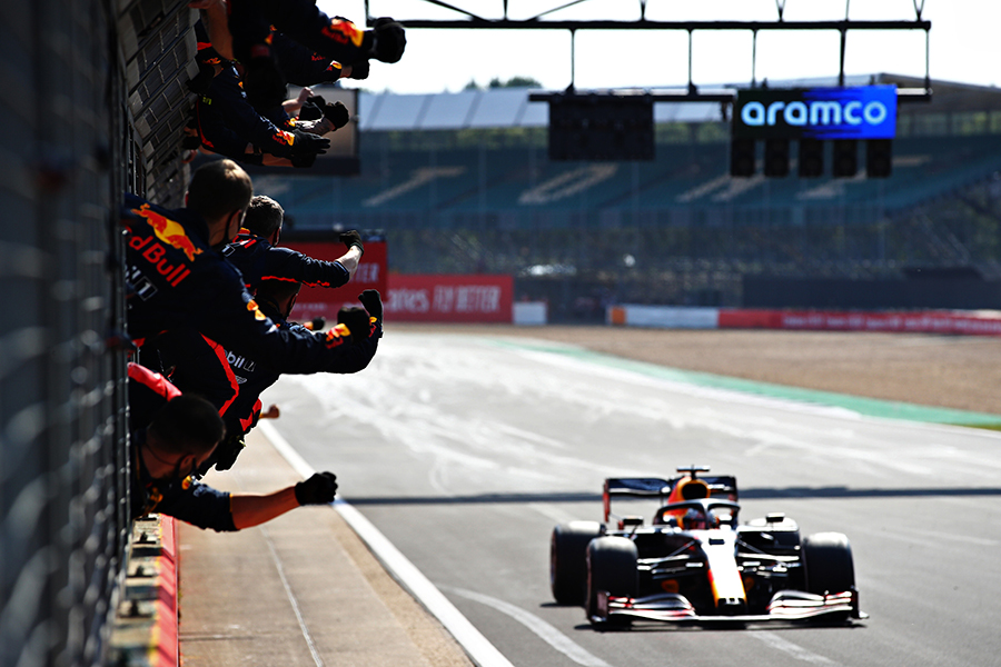 Vitória de Verstappen em Silverstone foi construída desde o sábado