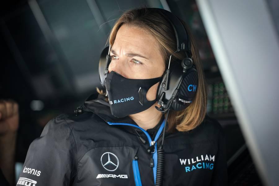 Claire Williams tem tido a responsabilidade de ser a líder da equipe nos últimos anos nas pistas