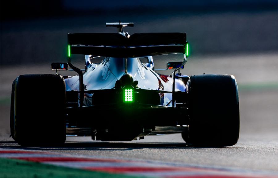 luzes verdes F1