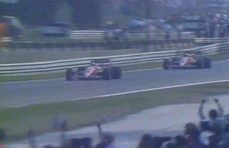 Berger e Alboreto fazem dobradinha da Ferrari em Monza