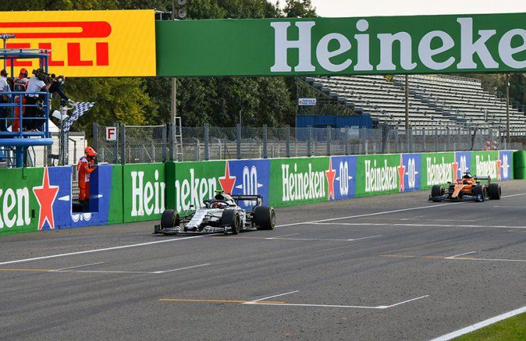 Gasly vence GP da Itália apenas 0s4 à frente de Sainz