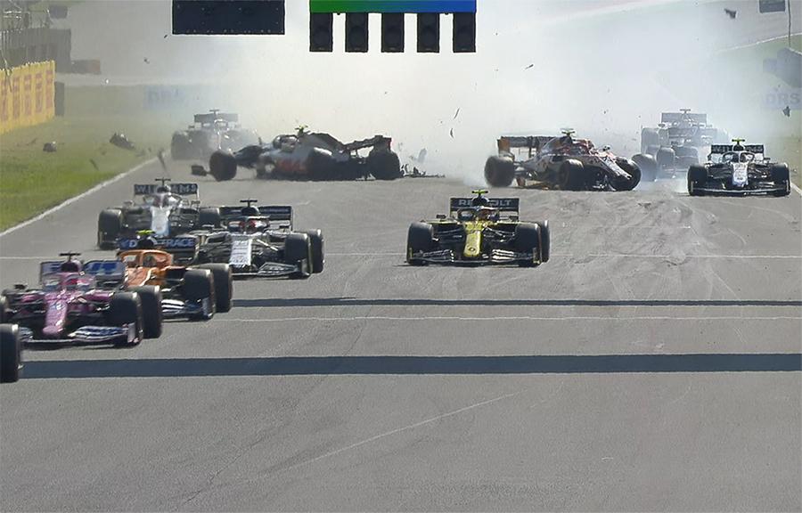 Imagem sobre Quais foram os erros? Entenda a confusão na relargada da F1 em Mugello