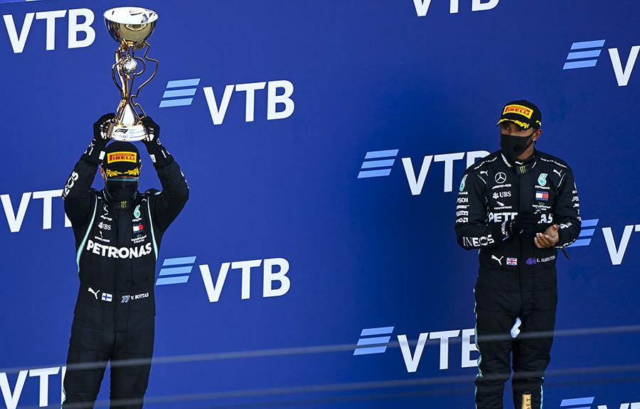 Imagem sobre Erro no Q2 e punição na prova: o conturbado GP da Rússia de Hamilton