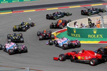 Largada da F1 em Spa em 2020
