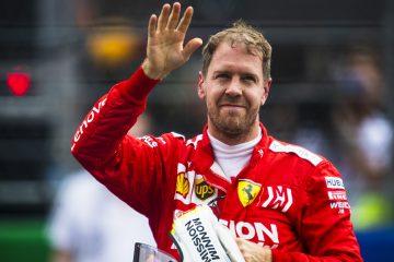 Sebastian Vettel se despede da Ferrari em 2020
