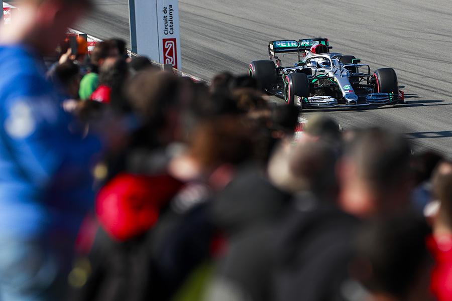 Todos os olhos se tornaram para a Mercedes na pré-temporada 2020