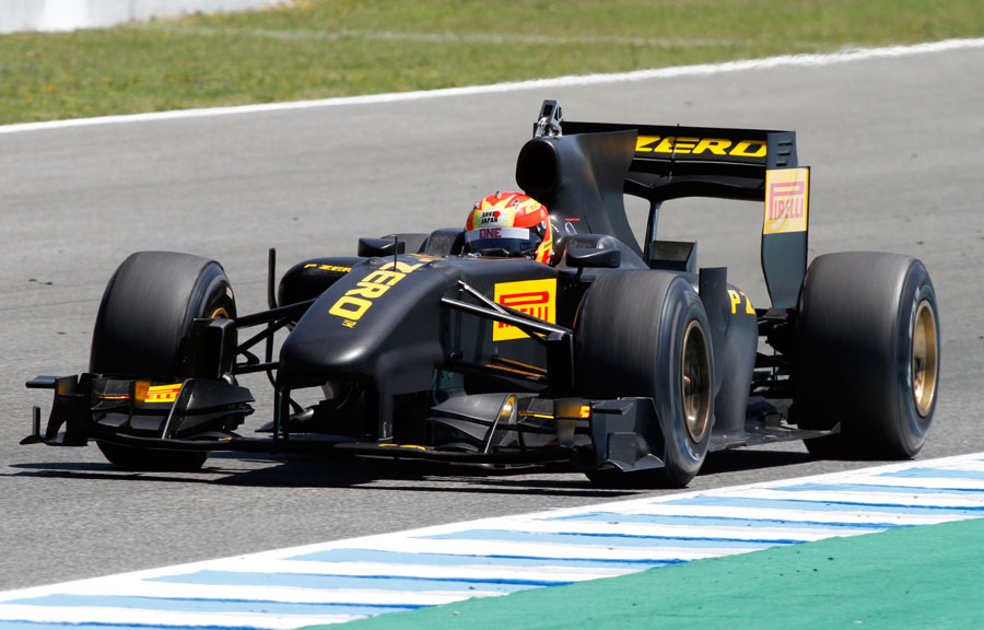 teste mercedes pirelli 2013