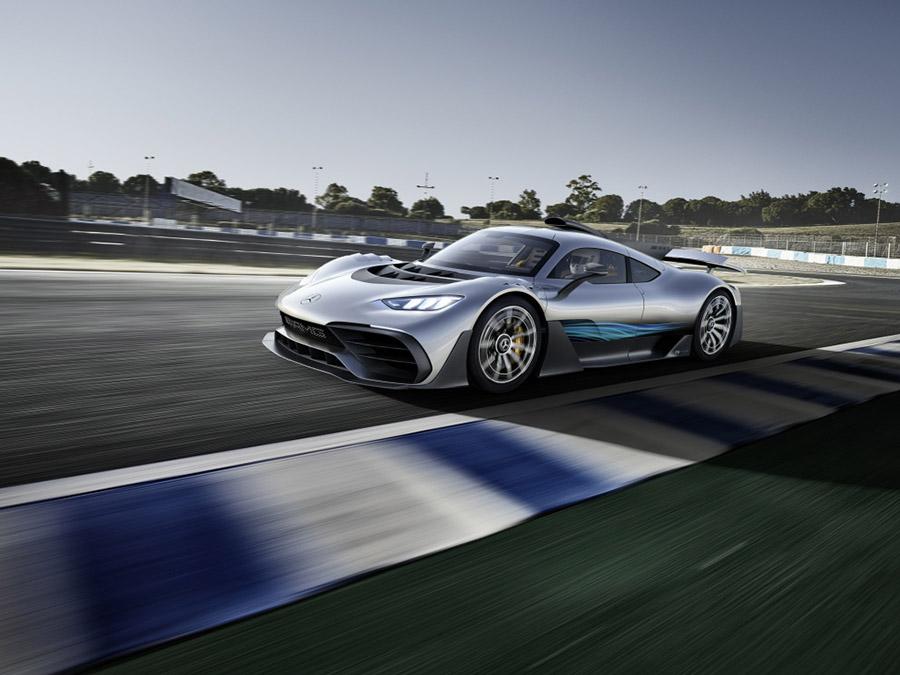 Hipercarro da Mercedes AMG, o Project One é equipado com a mesma unidade de potência da F1