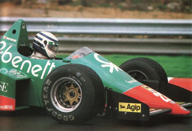 Ricardo Patrese conseguiu o último grande resultado da Alfa Romeo na F1: terceiro lugar no GP da Itália de 1984, em Monza