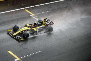 Pneus de chuva são equipamentos essenciais em corridas em condições de asfalto molhado