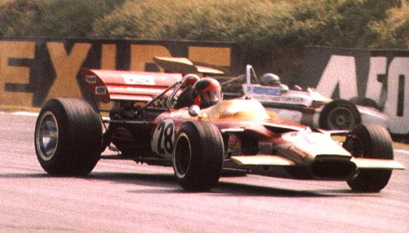Fittipaldi estreou na F1 em julho de 1970, em Brands Hatch, com um Lotus 49