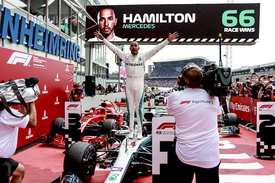 Vitória na Alemanha iniciou uma virada no campeonato de 2018 para Hamilton