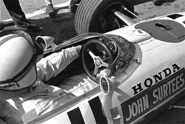 Surtees elevou o nível do projeto da Honda na F1