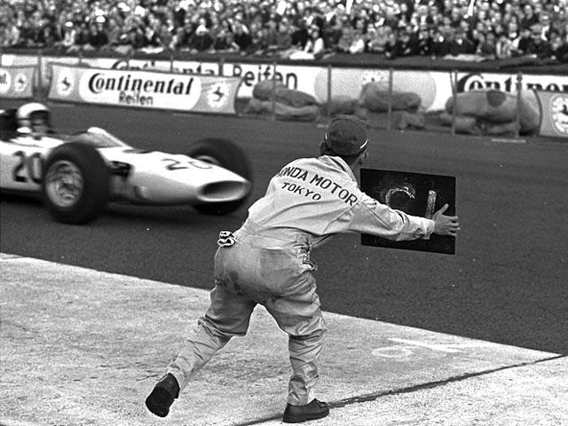 Estreia da Honda na F1 aconteceu no GP da Alemanha de 1964