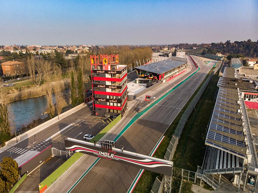 Nova configuração de Imola sem a Variante Bassa será utilizada pela primeira vez pela F1 em 2020