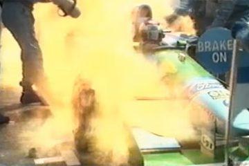Benetton de 1994 foi uma das grandes polêmicas da F1