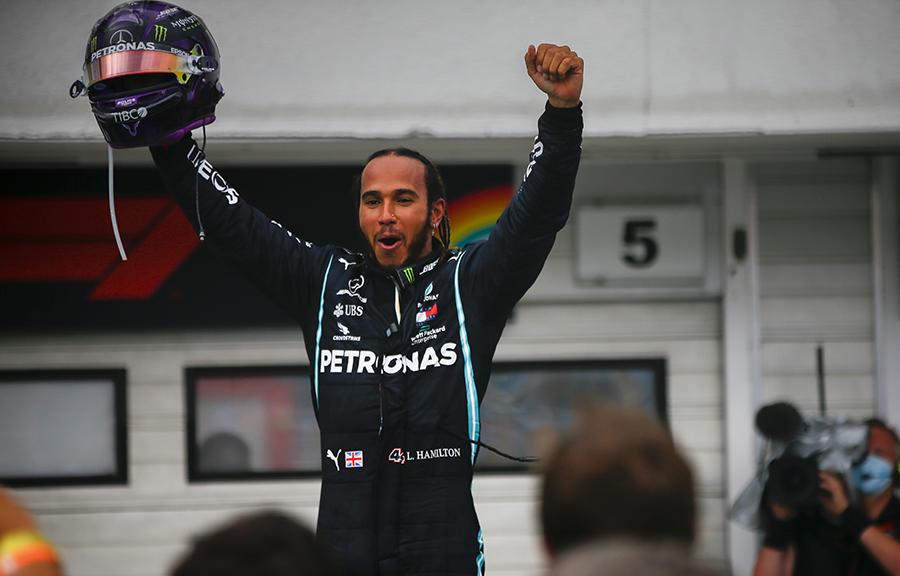 Imagem sobre Dez vitórias que marcaram a trajetória de Hamilton na F1