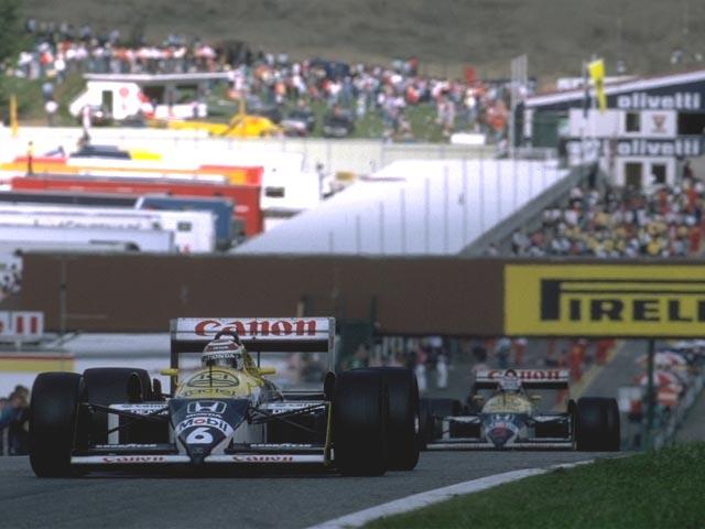 Piquet e Mansell protagonizaram dura briga interna na Williams com a FW11