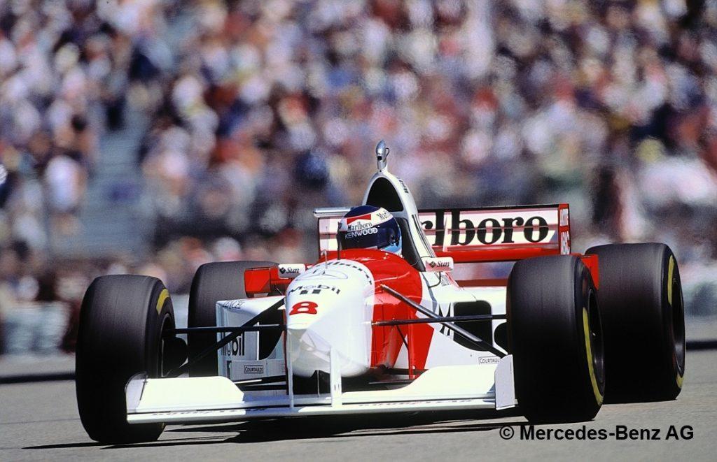 Barrichello Mclaren 1995