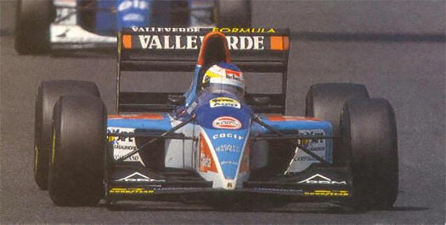 Alboreto já vinha correndo em equipes pequenas até encerrar sua passagem pela F1 na Minardi, em 1994
